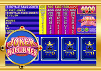 Machine à sous gratuite Casino 770 : Joker Multitimes.