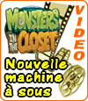machine à sous Monsters in the Closet