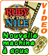 machine à sous Ruby of the Nile