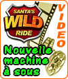 machine à sous Santa's Wild Ride