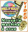 machine à sous Wheel of Wealth MultiPlayer