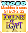 machine à sous Fortunes of Egypt