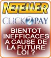 Les portefeuilles électroniques Neteller ou Click2Pay seront-ils efficaces après la loi française ?