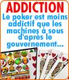 Addiction, le poker est-il moins addictif que les machines à sous.