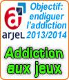 33 propositions définies par l'Arjel pour l'addiction aux jeux.