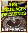 Récapitulatif des braquages de casinos en France.
