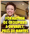 Un centre de formation de croupiers a ouvert ses portes à Nantes.