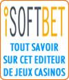 Isoftbet, logiciel de casino.