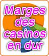 Sur quels jeux jouer dans un casino en dur et quelles sont leurs marges ?
