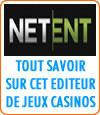 Netent, logiciel casino en ligne.