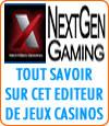 Nextgen Gaming, un éditeur de jeux casinos, notamment de machines à sous.