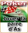 Paire d'as au poker, comment la jouer ? Stratégies et conseils.