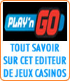 Play'n Go, logiciel de casino en ligne.