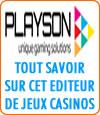 Playson jeux de casino, gros défaut, pas de gros jackpots.