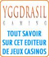 Yggdrasil, logiciel casino en ligne.