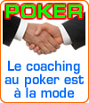 Le coaching au poker.