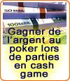 Les compétences d'un joueur de poker de cash game.