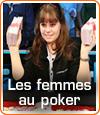 Les femmes au poker.