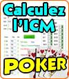 Le modèle ICM au poker.