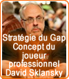 Poker, la stratégie du Gap Concept de David Sklansky.