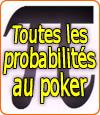 Poker : stratégies et probabilités de la cote en carte et de la cote du pot.