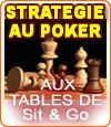 Stratégies de poker sur les tables de Sit & Go à 9 joueurs.