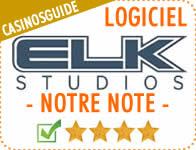 Logiciel de casino Elk Studios.