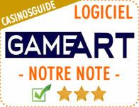 Logiciel de casino GameArt.