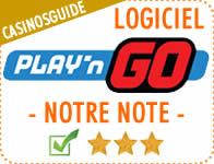 Logiciel de casino Play'n Go.
