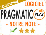 Logiciel de casino Pragmatic Play.