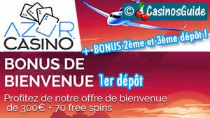Casino Azur en français.