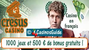 Cresus Casino en français.