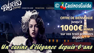 Paris Casino en ligne.