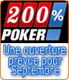 200pourcentpoker.fr, un nouveau mastodonte sur le marché du poker en ligne ?