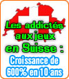 Le fléau de la dépendance aux jeux d'argent en Suisse.