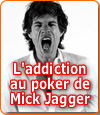Addiction au poker de Mick Jagger : les révélations de Jerry Hall.