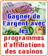 Affiliation casinos en ligne, un moyen pour gagner de l'argent ou arnaque ?