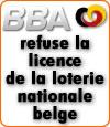 La Belgian Betting Association refuse la licence de la loterie belge pour les paris sportifs.