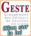 Le Geste en faveur de modifications de la loi française sur les jeux en ligne.