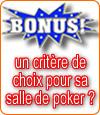 Les bonus avec dépôt au poker, un critère important pour choisir sa salle en ligne ?
