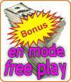 Profitez de 18261 €uros de bonus en mode free play avec les casinos Microgaming !