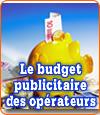 Les dépenses en publicité des opérateurs de jeux agréés en France.