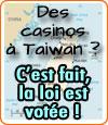 Taïwan à l'heure des casinos en dur ?