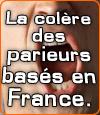 Les parieurs Français sont en colère contre la loi française sur les paris sportifs.