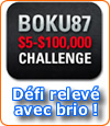 Transformer 5 $ en 100 000 $ : le défi de Boku 87 lancé par Pokerstars.