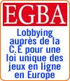 Sigrid Ligné (EGBA) poursuit son lobbying pour les jeux en ligne en Europe.