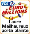 Laure Meilheureux porte plainte envers la Française des Jeux.