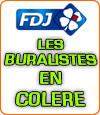 FDJ, les buralistes en colère envers la Française des Jeux.