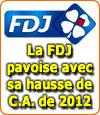 La FDJ se porte bien avec ses 12 milliards de chiffre d'affaires... et l'Etat aussi !