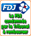 La FDJ condamnée à rembourser 60000 €.